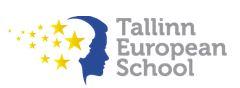 Tallinna Euroopa kool logo