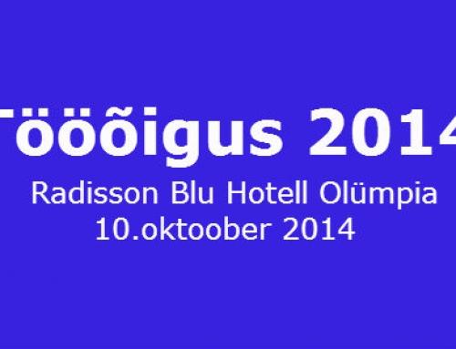 Konverents Tööõigus 2014